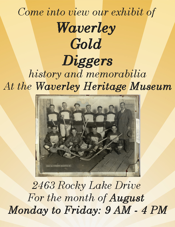 poster for hockey display